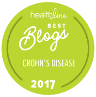 Healthline Best Crohn's Disease Blog of 2017
