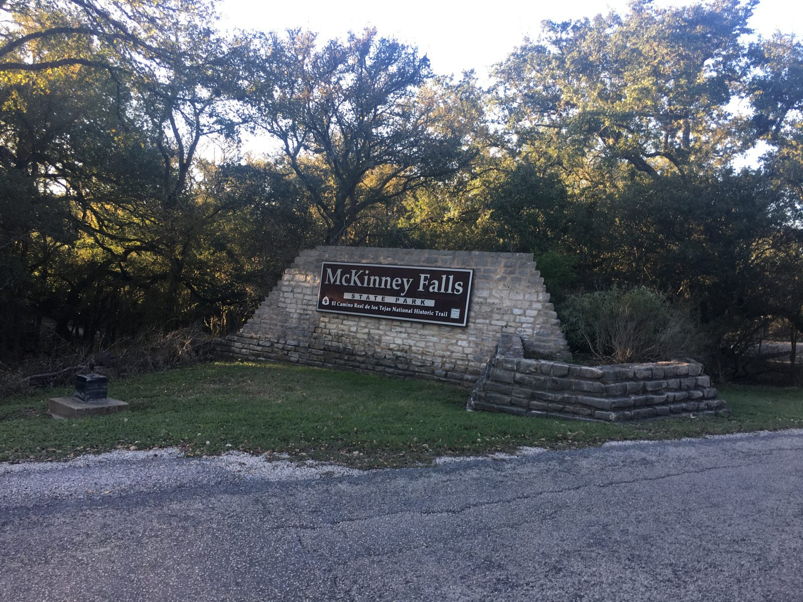 Mckinney Falls State Park Austin Texas The Lady Is A